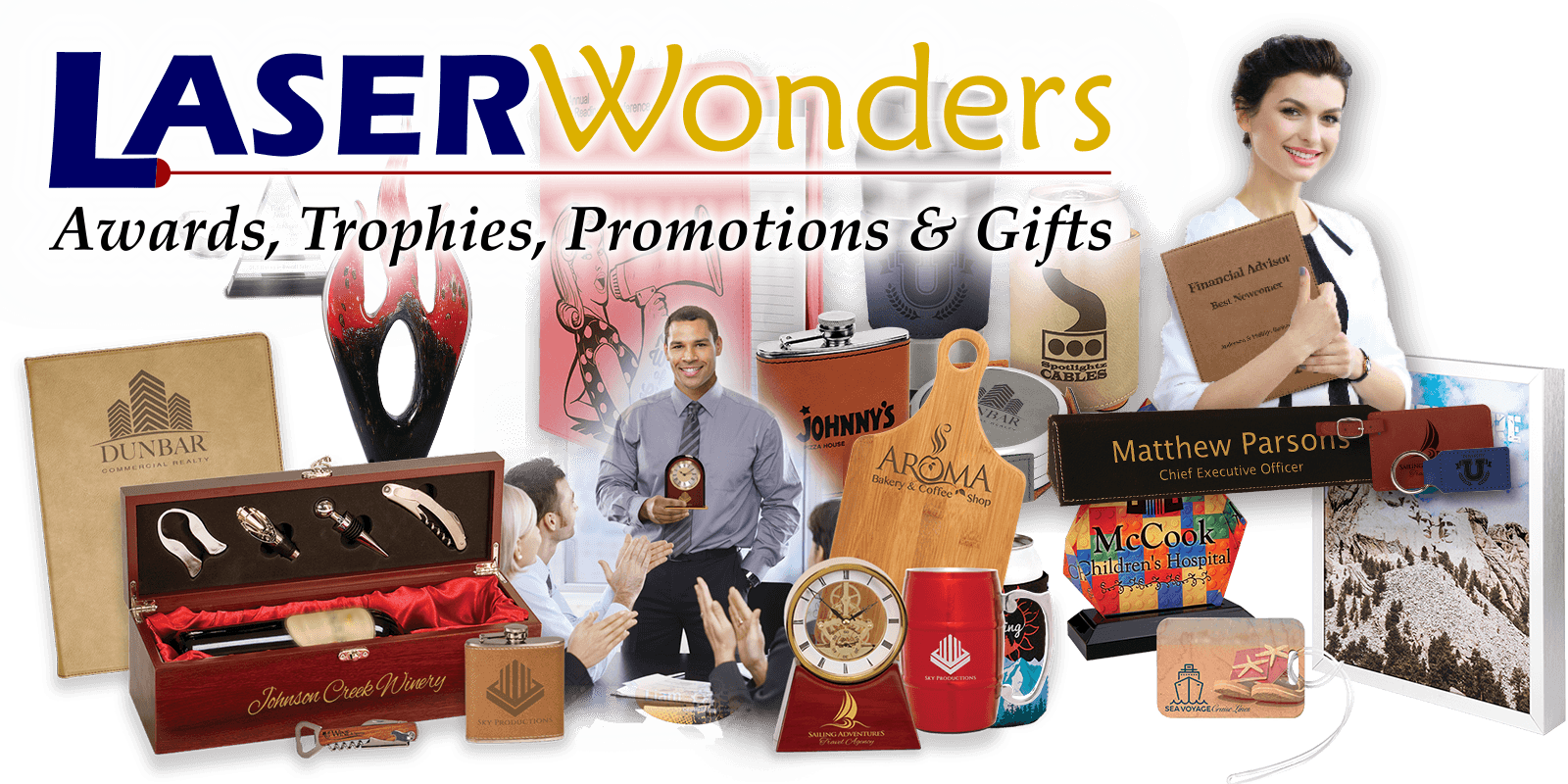 Laser Wonders - Awards, Trophies, Promotions, & Gifts